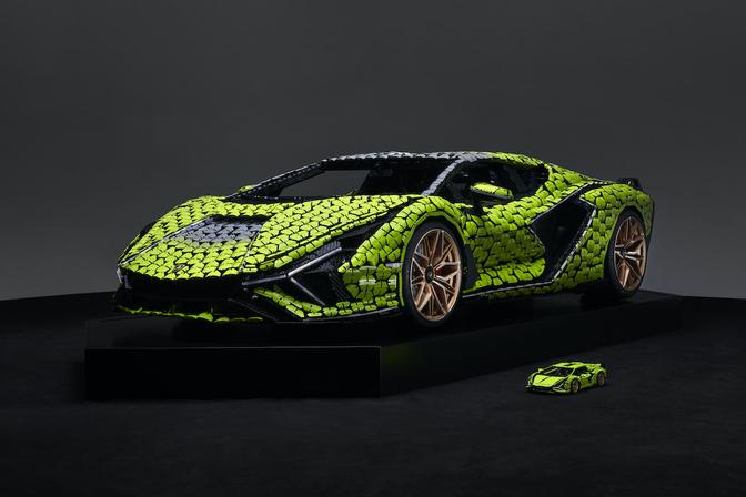 Lego Lamborghini Sian 2021