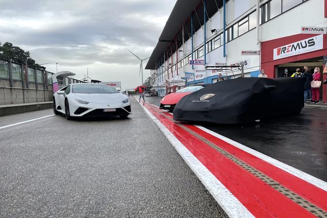 Lamborghini Huracán Esteban Muth Delphine Boël