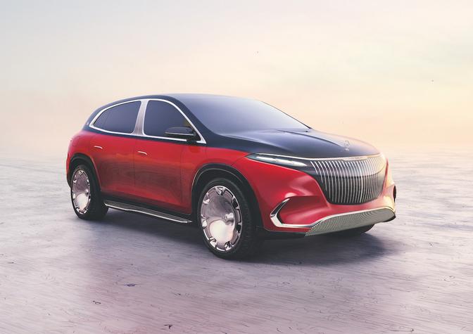 Mercedes-Maybach EQS 2022