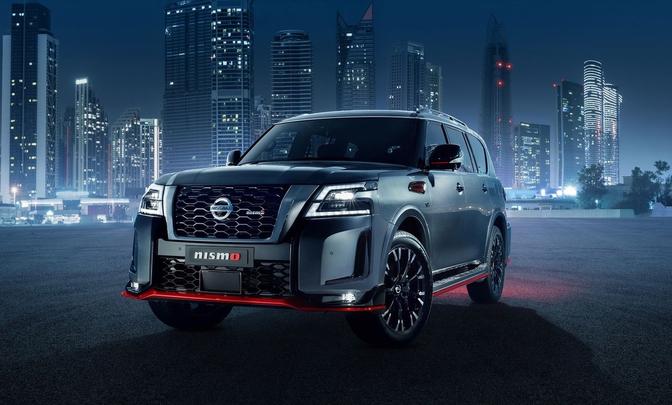 Nissan Patrol Nismo facelift 2021