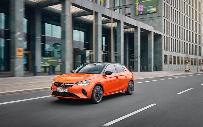Opel au Salon de l'auto de Bruxelles 2021