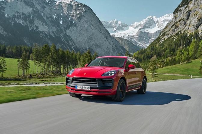 Porsche Macan facelift 2021