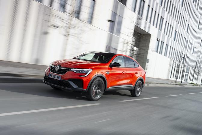 Renault Arkana 2021 essai