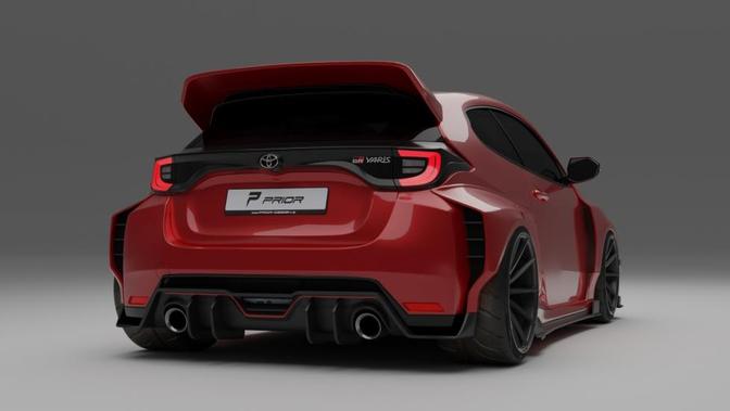 Toyota GR Yaris Prior Design Render