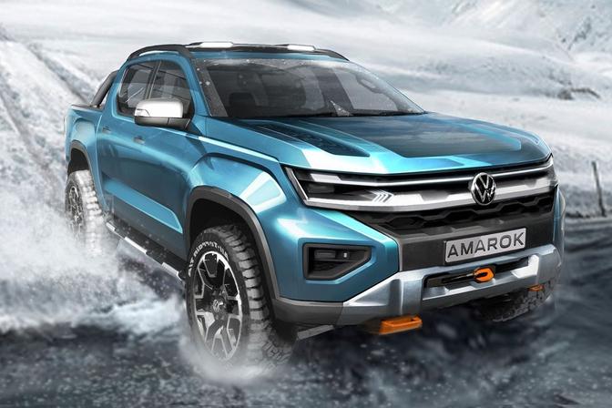 Volkswagen Amarok Teaser 2022