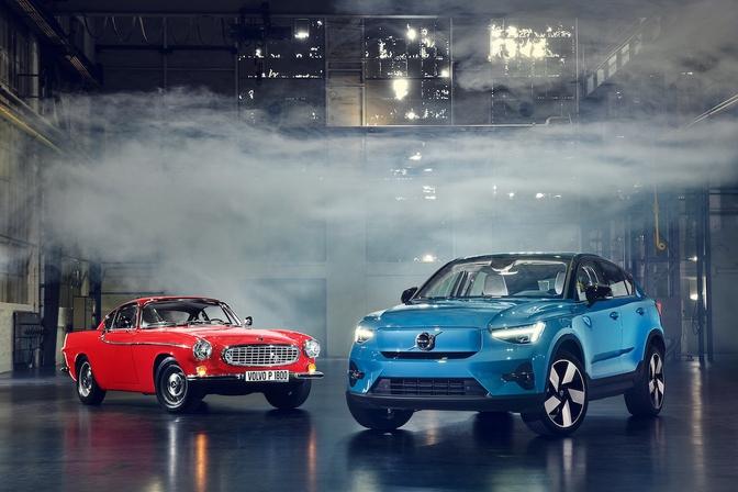 Volvo P1800 VS C40