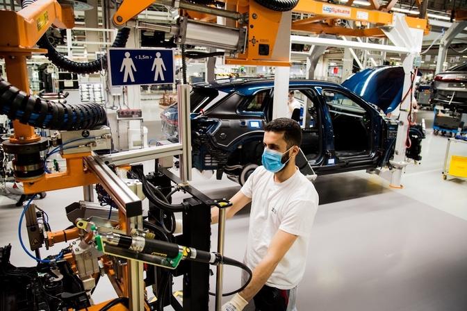 Production auto Belgique 2020