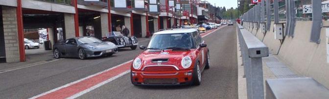 Mini Cooper S race