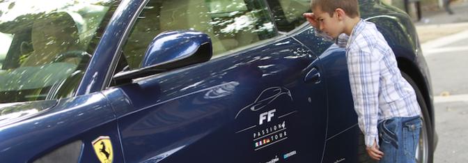 Ferrari FF Make a Wish foundation