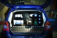 Speciale reeksen voor Renault Twingo: 55 FBG, Goes Pop, Scabin Pasta en Wagon Lire