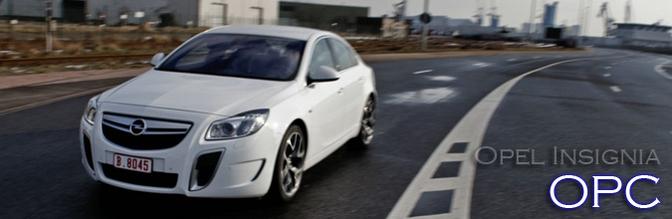 Rijtest Opel Insignia OPC
