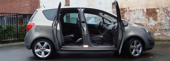 Rijtest Opel Meriva 1.4 Turbo