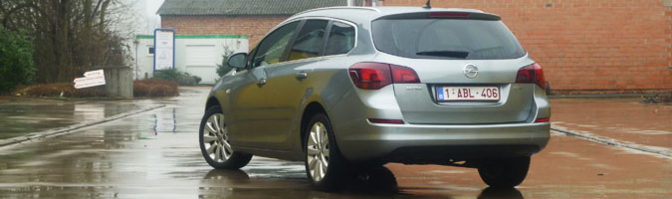Rijtest: Opel Astra Sports Tourer 1.7 CDTI   Autofans