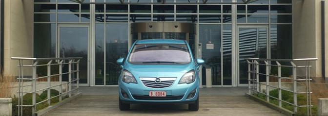 Rijtest: Opel Meriva 1.3 CDTi
