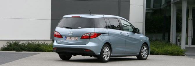 Rijtest: Mazda 5 2.0 i-Stop Active