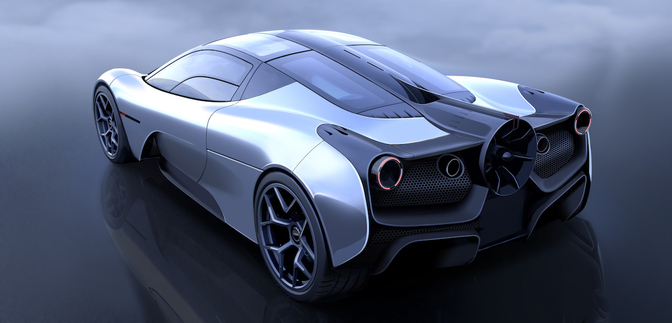 Gordon Murray Automotive T.50 2019