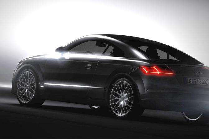 Eerste beeld van de nieuwe Audi TT