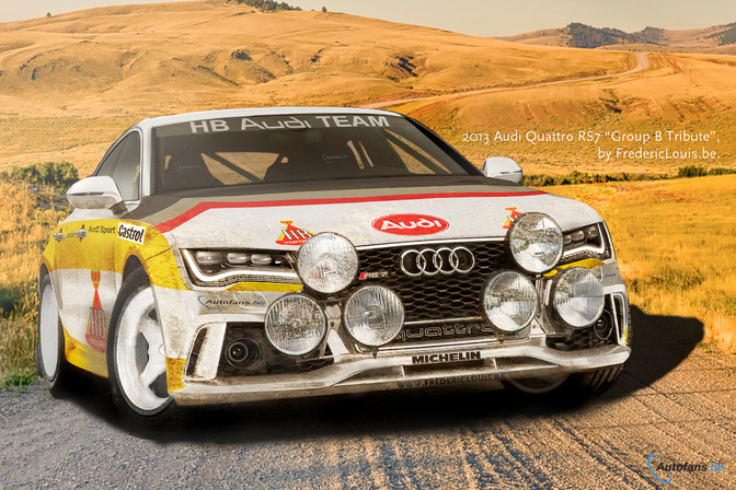 Audi RS7 Quattro Group B Tribute - Fréderic Louis