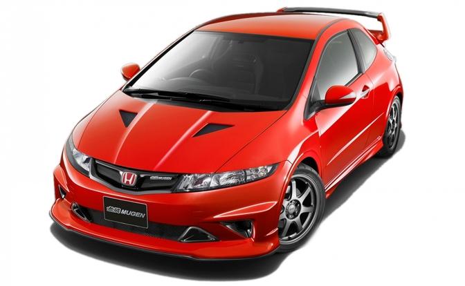 Civic Type R te zien. De volgende Type R komt er in Europa pas in 2015