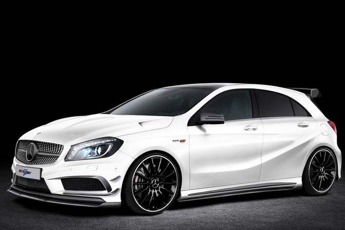 a45 amg look a like revozport a klasse autofans. Black Bedroom Furniture Sets. Home Design Ideas