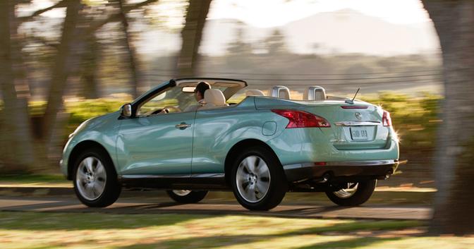 Nissan stopt met de murano crosscabrio die niemand wou for Nissan juke cabrio