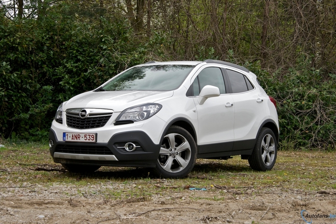 rijtest opel mokka 1 4 turbo 4x4 autofans. Black Bedroom Furniture Sets. Home Design Ideas