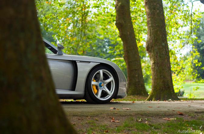 Behind the scenes: Fotoshoot Porsche Carrera GT