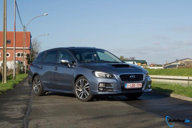 Rijtest: Subaru Levorg (2015)