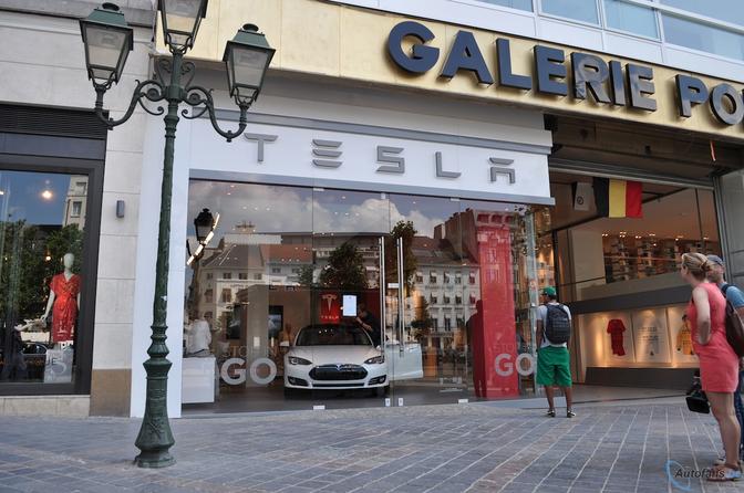 Tesla store gent