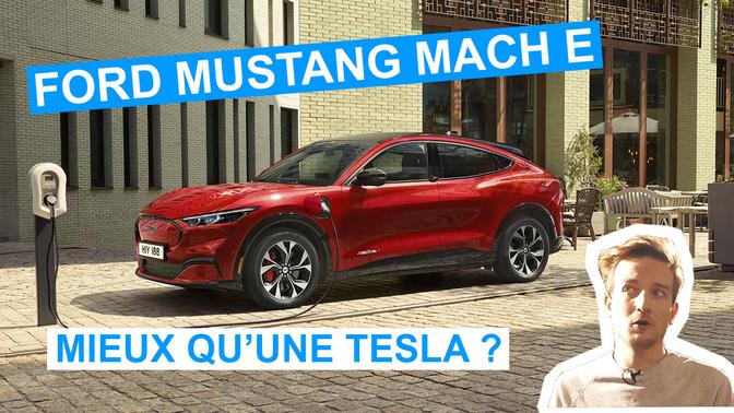 Essai vidéo Ford Mustang Mach-E 2021