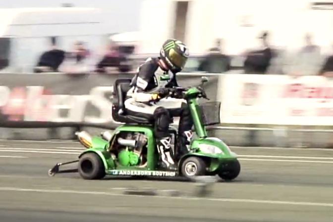 Opzij Jong Grut Scootmobiel Doet 173 Km U Autofans