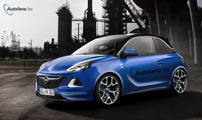 opel adam opc komt in 2015 zal niet opc heten autofans. Black Bedroom Furniture Sets. Home Design Ideas