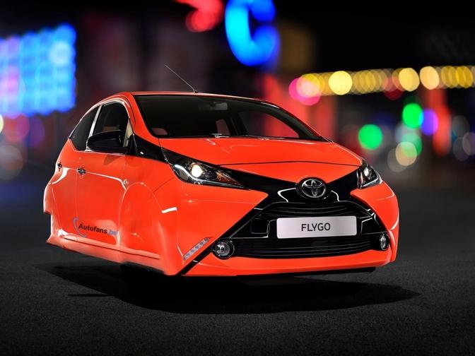 Toyota Werkt Aan Zwevende Auto Autofans