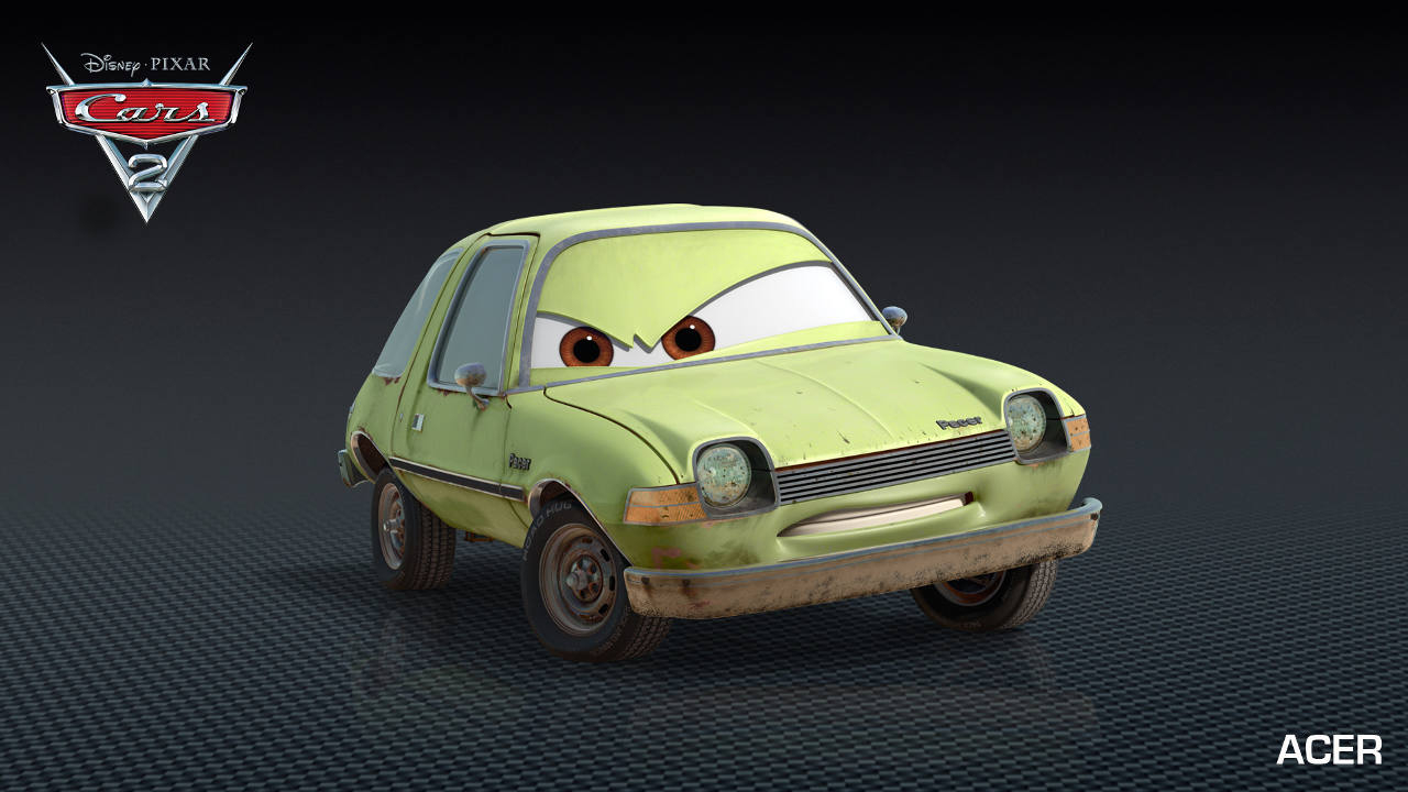 Characters In Cars: Cars 2 Characters & Personages