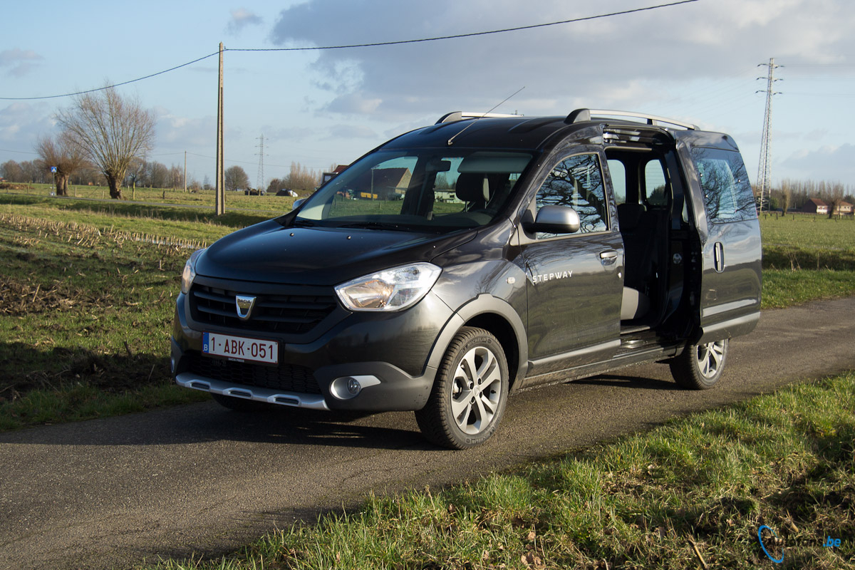 dacia dokker stepway rijtest autofans. Black Bedroom Furniture Sets. Home Design Ideas