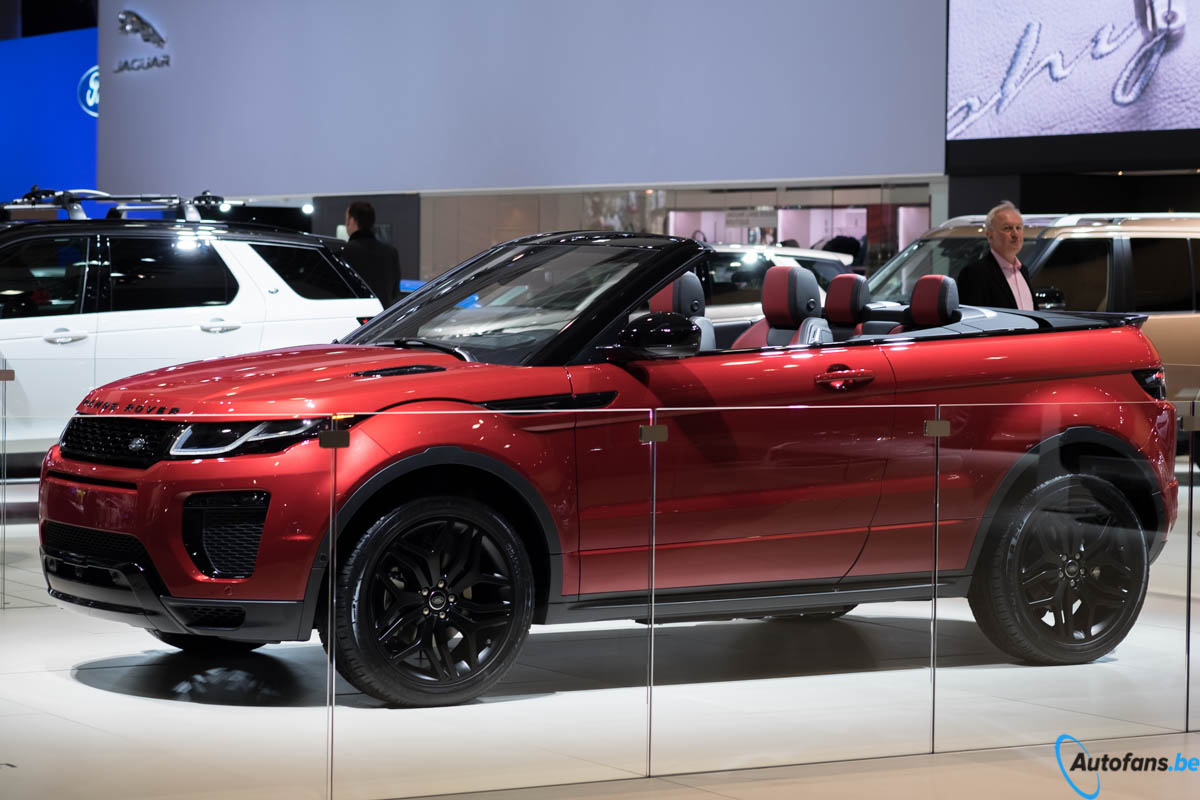 range rover evoque cabriolet salon brussel 2016 autofans. Black Bedroom Furniture Sets. Home Design Ideas