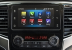Mitsubishi L200 pick-up 2019 facelift infotainment