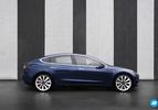 Tesla Model 3 zijkant