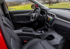 MG ZS EV Luxury rood (2020) interieur