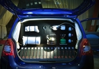 Renault Twingo 55 FBG Goes Pop Scabin Pasta Reading Room 015