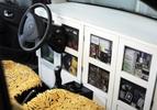 Renault Twingo 55 FBG Goes Pop Scabin Pasta Reading Room 021