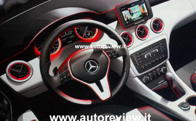 Mercedes a klasse interieur sketches 2013 autofans for Interieur mercedes a klasse