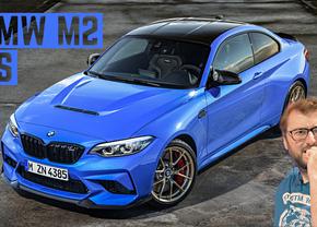 BMW M2 CS video info