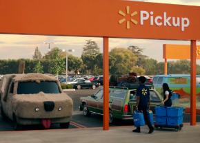 Wallmart movie car commercial