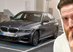 BMW 330e rijtest review video