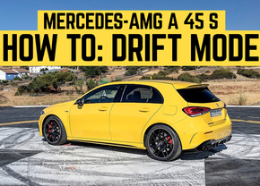 Mercedes-AMG A 45 S Drift Mode How To