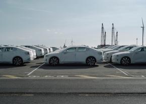 Polestar 2 te Zeebrugge 2020