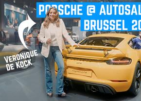 Porsche autosalon Brussel 2020 Veronique De Kock