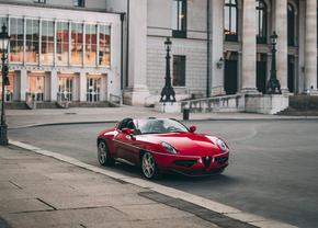 Alfa Romeo Disco Volante Spyder auction (2021)