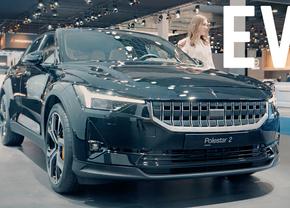 Elektrische auto autosalon Brussel 2020 Autofans